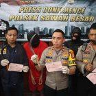 Polsek Sawah Besar Tangkap Dua Pelaku Pembacokan di Jakarta Utara