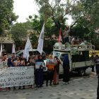Brigade GPI Kembali Datangi PT Toba Bara Dalam Aksi Jilid V