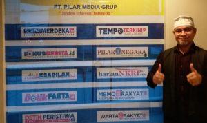 Calon Walikota Ternate Bersillaturrahim Ke Kantor Pilar Media Grup