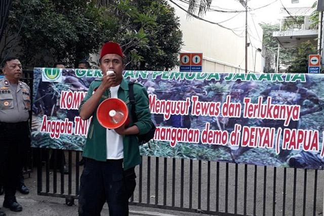 Gerakan Pemuda Jakarta: TNI-Polri Jadi Sasaran Pelanggaran HAM