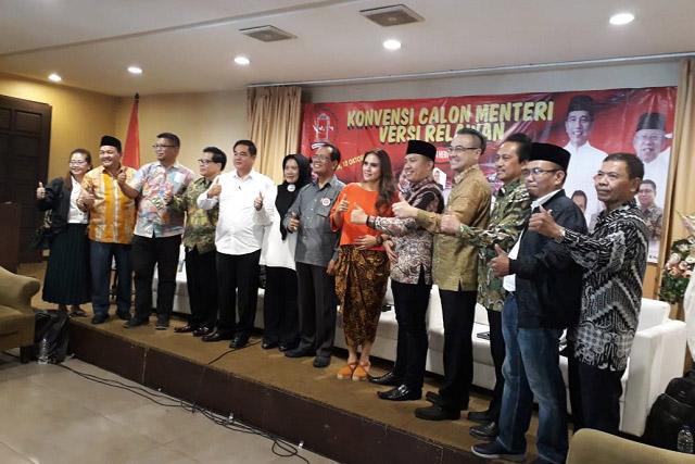 Konvensi Calon Menteri Versi Relawan Pilar Indonesia Bersatu