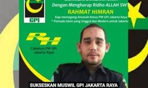 Aktivis Nasional Rahmat Himran Maju Calon Ketua PW GPI Jakarta Raya