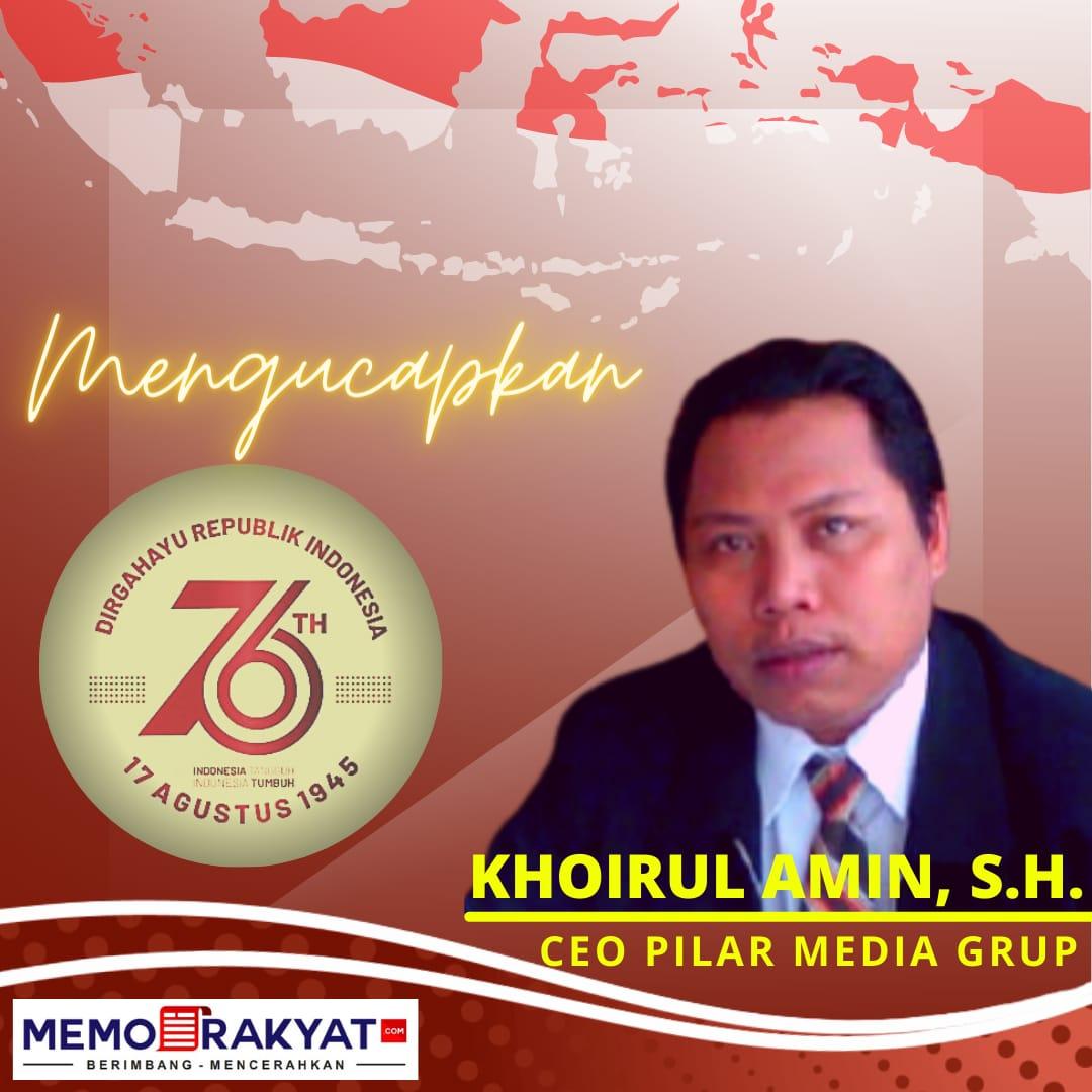 400 x 350 Khoirul Amin – Dirgahayu Republik Indonesia ke 76